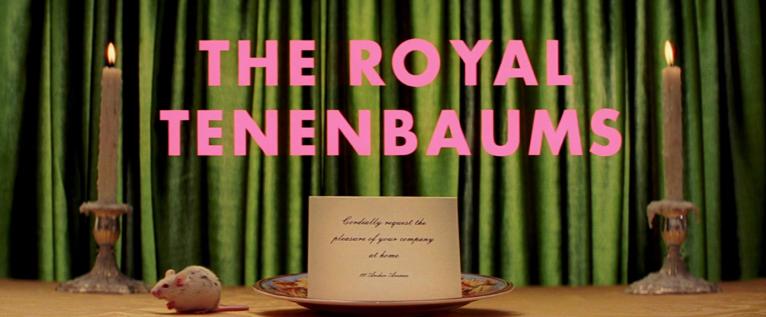 Royal Tenenbaums Title